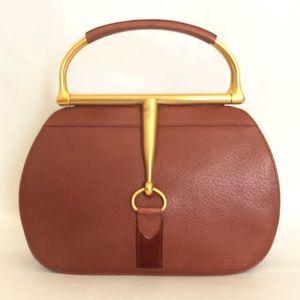 Gucci Vintage Snaffle Bit Horsebit Bag